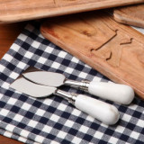 Marble Set/2 Cheese Knives