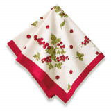 Gooseberry Red/Green Napkin 19 x 19 in, Six