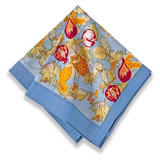 Tutti Frutti Blue/Red Napkins 19 x 19 in, Six
