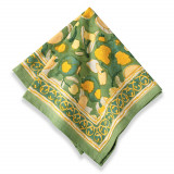 Fruit Yellow/Green Napkins 19 x 19 in, Six