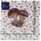 Chanterelle Paper Luncheon Napkins 13 in. X 13 in. - 12 Packs of 20 Napkins per Pack