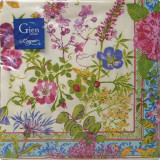 Millefleurs Paper Cocktail Napkins X 20 10 in. X 10 in. Pack Of 12