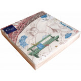 Paris-paris Paper Luncheon Napkins X 20 13 in. X 13 in. Pack Of 12