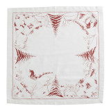 Country Estate Winter Frolic Ruby Napkin 22 in. sq