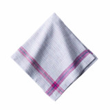 Khadi Plaid Multi Napkin 20 in. sq