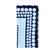 Pop White/Blue Napkins