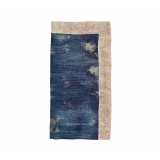 Dip Dye Gauze Cobalt/Natural Napkins