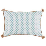 Sahara Mineral With Tasselslumbar Pillow 13 X 19 In