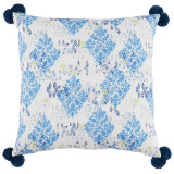 Sedona Pacific With Pom Poms Pillow 24 X 24 In