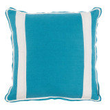 Plasma Linen With Oyster Linen Inset Pillow 20 X 20 In