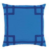 Rio Typhoon With Royal Tape Outdoor Pillow 20 X 20 In