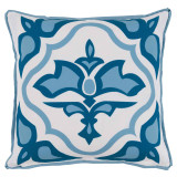 Lagos Tidal With Tidal Flange Outdoor Pillow 20 X 20 In