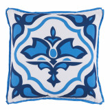 Lagos Typhoon With Typhoon Flange Outdoor Pillow 20 X 20 In