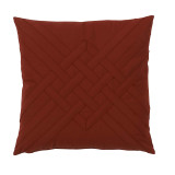 Veranda Cayenne Interlaced Outdoor Pillow 20 X 20 In