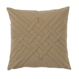 Veranda Sisal Interlaced Outdoor Pillow 20 X 20 In