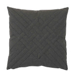 Veranda Ash Interlaced Outdoor Pillow 20 X 20 In
