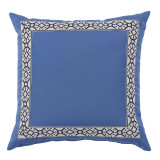 Como Navy Tape On Capri Outdoor Pillow 22 X 22 In