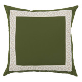 Como Camel Tape On Elm Outdoor Pillow 22 X 22 In