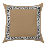 Como Black Tape On Camel Outdoor Pillow 22 X 22 In