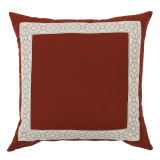 Como Camel Tape On Clay Outdoor Pillow 22 X 22 In