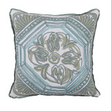Tile Splash Reversible With Splash Flange Outdoor Pillow 20 X 20 In