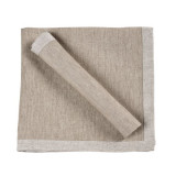Frascati Table Linens Flax