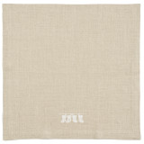 Kila Siku Napkin 19.5x19.5 in. Stockings White