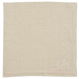 Kila Siku Napkin 19.5x19.5 in. Winter Wonderland White