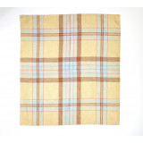 Westport Tea Towel 27x27 in. Straw Check