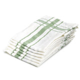 "Camaret Tea towel 27x27"" Green"