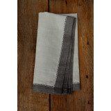Majesty Light Grey/Pewter 21x21 in Napkin