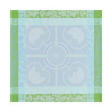 Jardin Royal Blue Fountain Napkin Square 22 in
