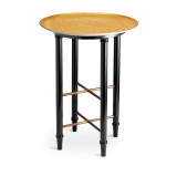 Alchimie Gold Side Table 16 x 21 in
