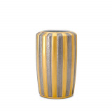 Gold + Platinum Vase - Small