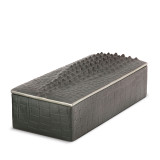 Grey Crocodile Rectangular Box