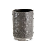 Grey Crocodile Pencil Cup