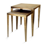 Croco Nested Tables - Set of 2