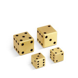 Games - Dice 2 Pairs (Small + Large) Small: 0.67 in&#59; Large: 1 in