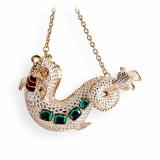 Dolphin Ornament Gold