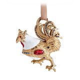 Rooster Ornament Gold