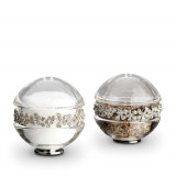 Garland Salt & Pepper Shakers - Platinum