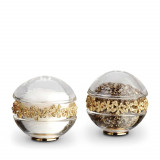Garland Salt & Pepper Shakers - Gold