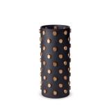 Teo Black Vase Large