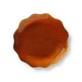 Symphony Burnt Orange Enamel Dish 6 in (4pc Box)