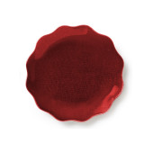 Symphony Ruby Red Enamel Dish 6 in (4pc Box)