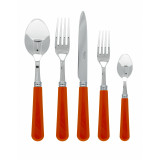 Basic Orange Flatware
