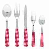 Gingham Red Flatware