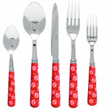 Provencal Red Flatware