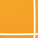 Two-Colored Napkin Orange/Ivory Color 16