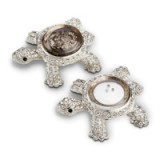 Turtles Platinum Salt & Pepper Shakers